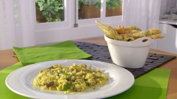 Receta para hacer un Risotto de alcachofas