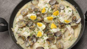 receta de merluza a la koskera