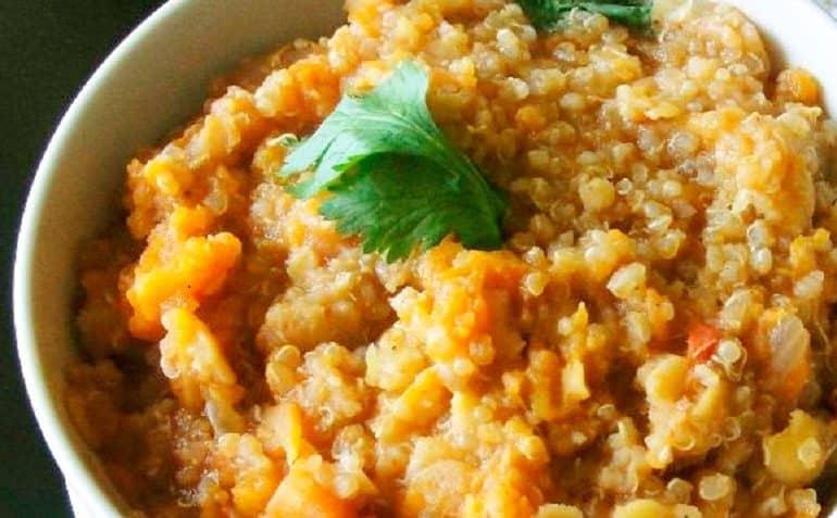 receta del risotto de quinoa