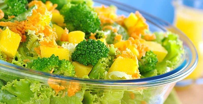 cómo utilizar las verduras.