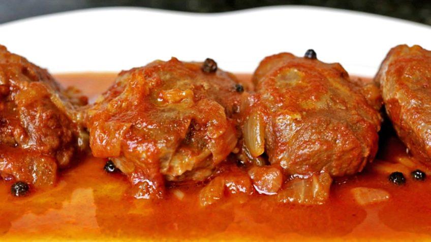 carrilleras solas en salsa