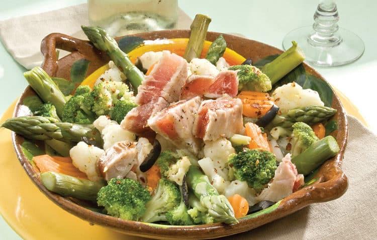 ensalada con verduras