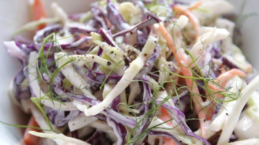 ensalada de col morada