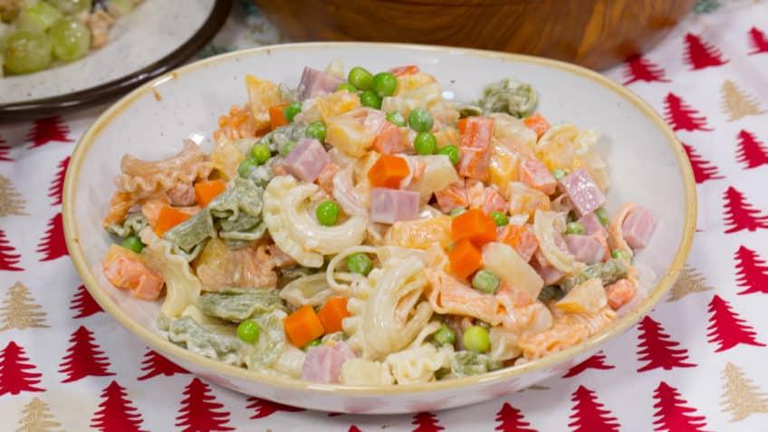 ensalada de fideos, ligera y deliciosa