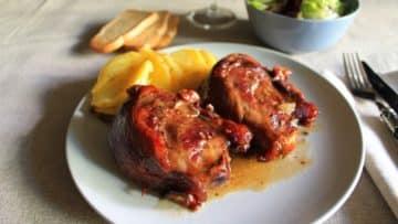 ingredientes carrillera de cerdo al horno