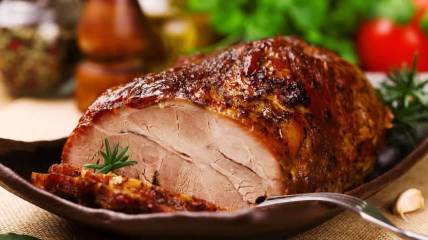 lomo de cerdo en su salsa