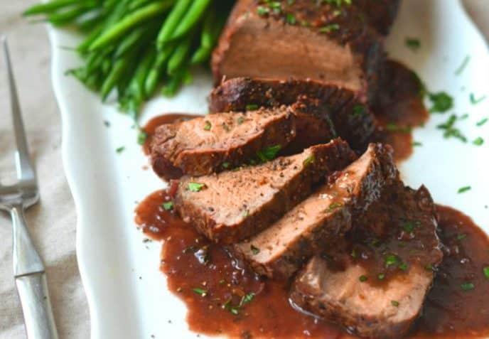 preparar lomo en salsa