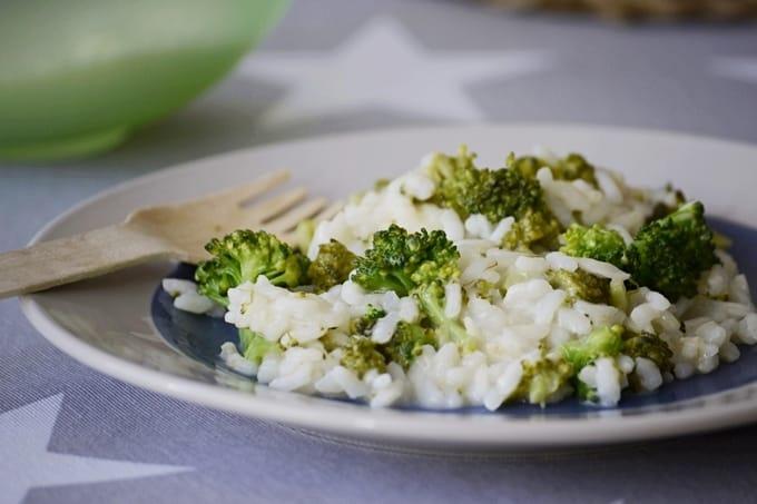 risotto de brocoli