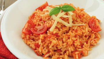 risotto de tomate