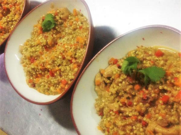 risotto de trigo